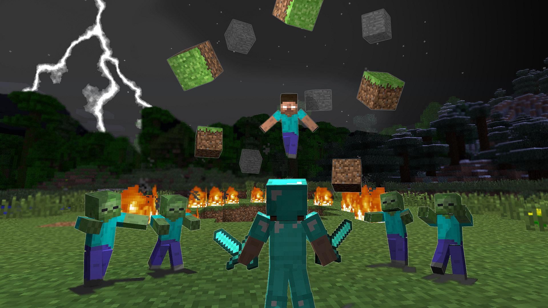 Plano De Fundo Minecraft: Minecraft : Fonds D'écrans