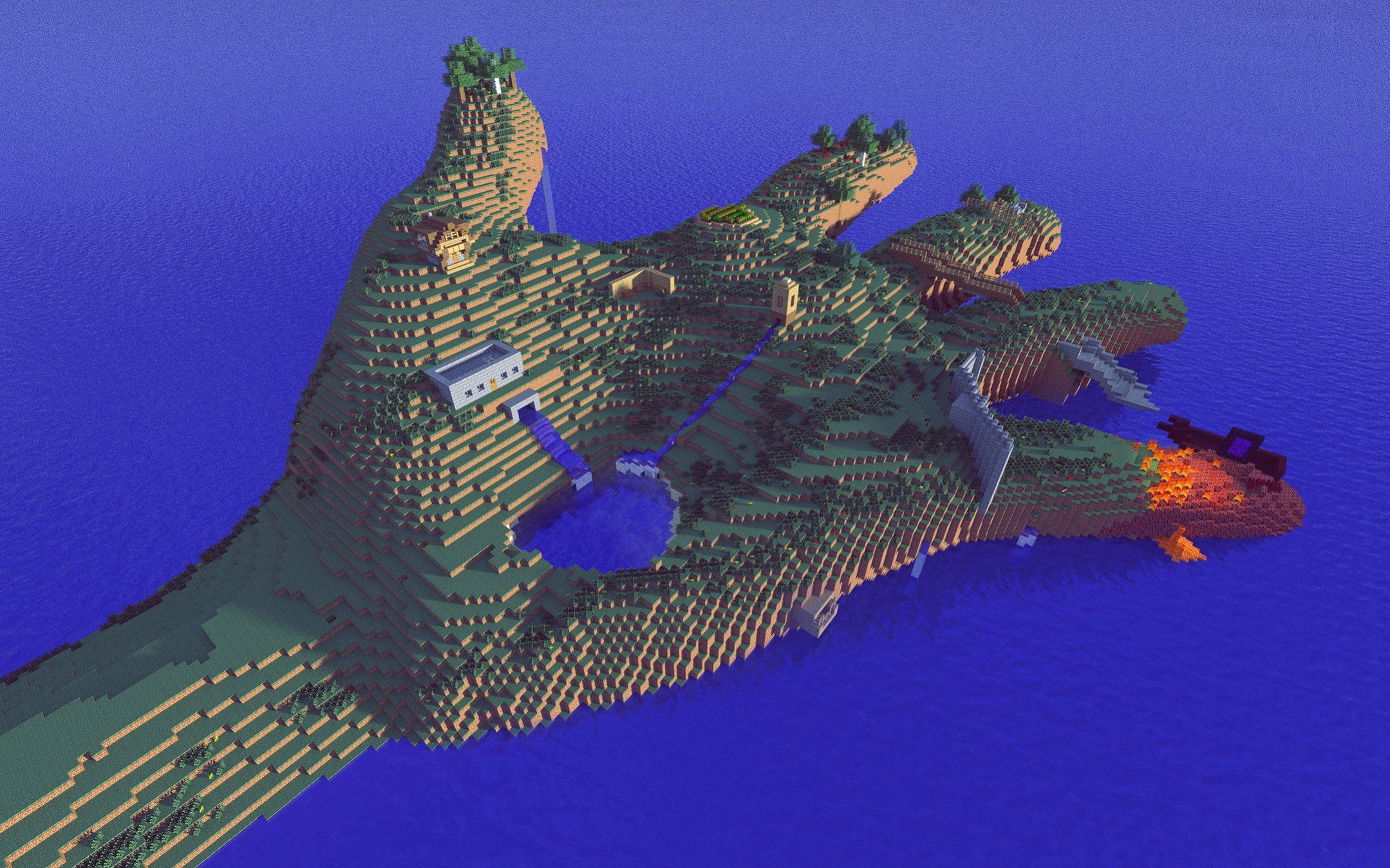 Minecraft main website - dd3
