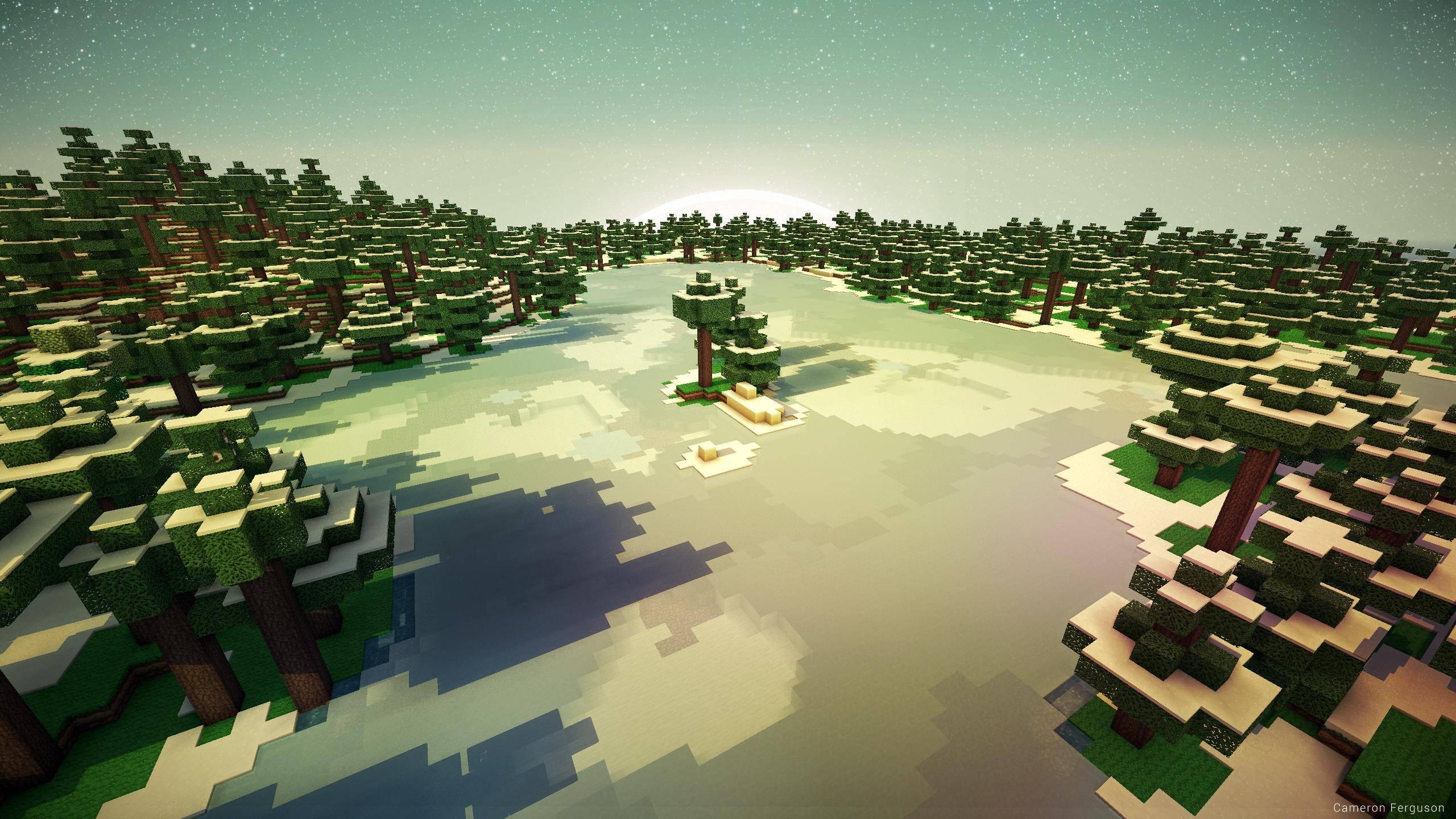 Minecraft : Fond d'écran Minecraft