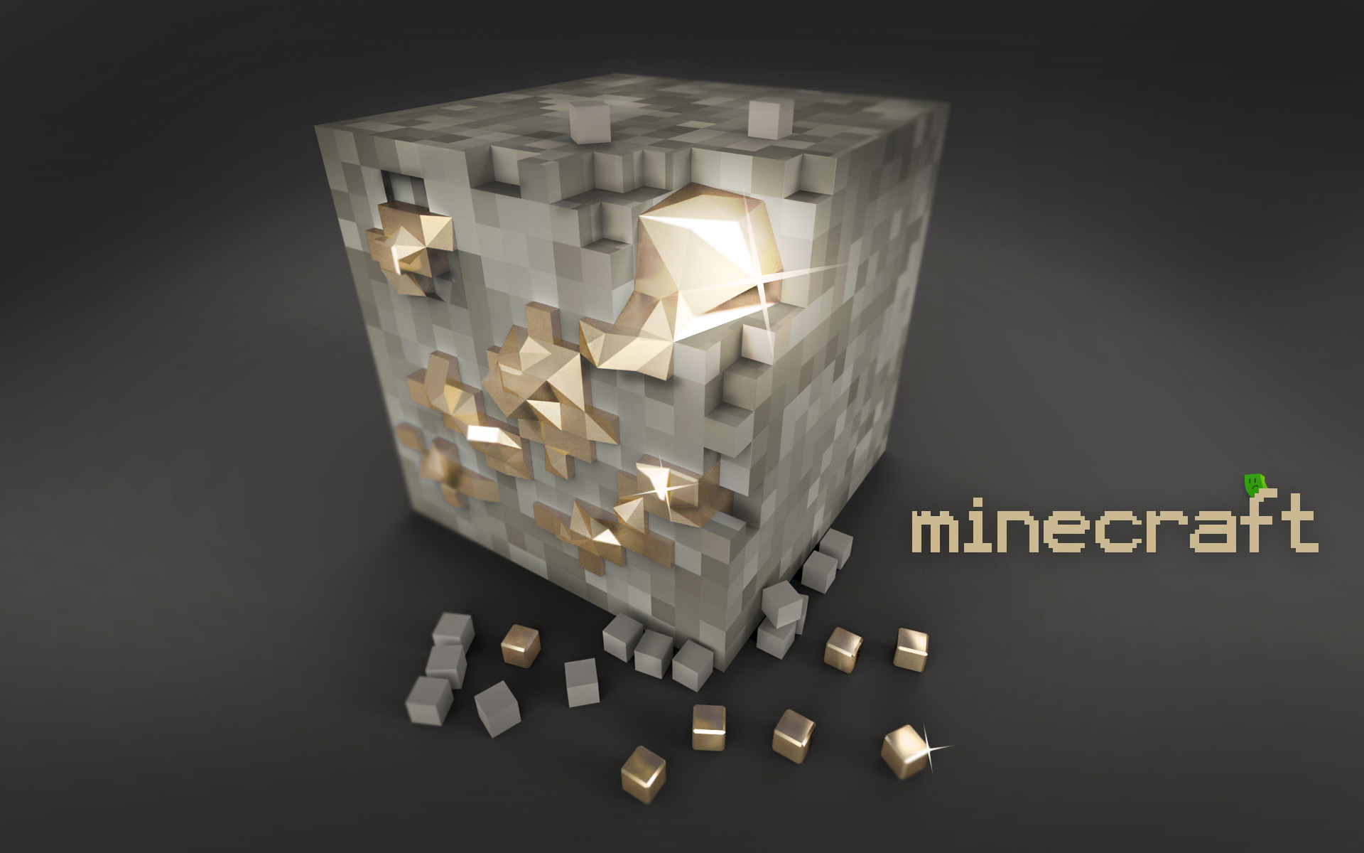 Fond d'écran wallpaper Minecraft
