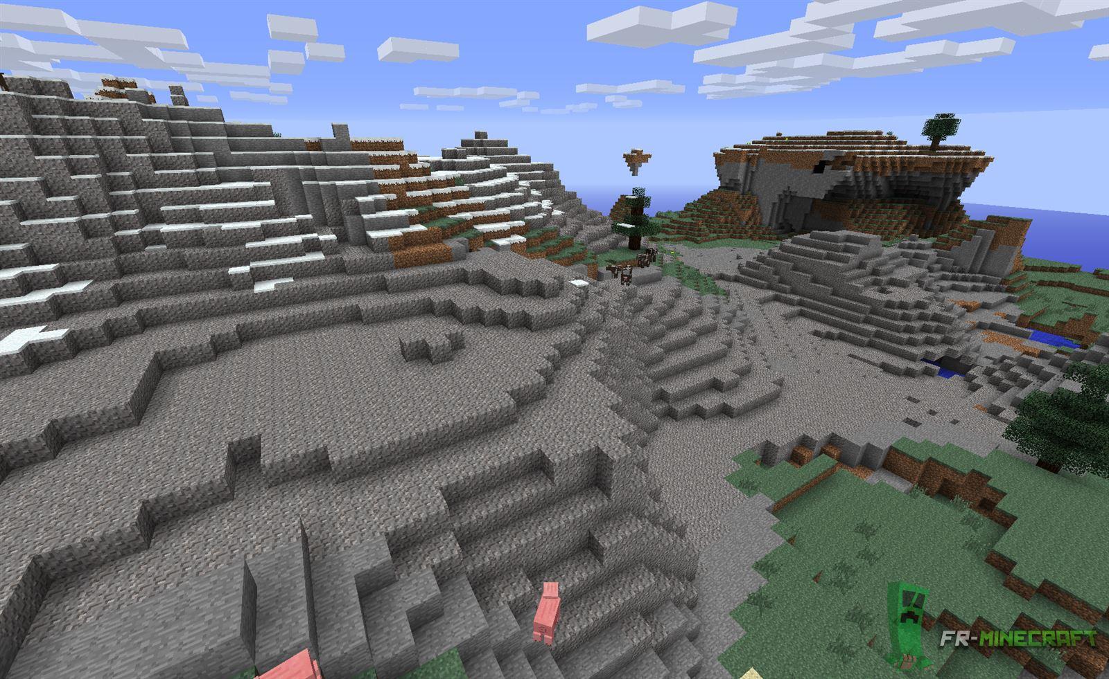 Minecraft Gravier