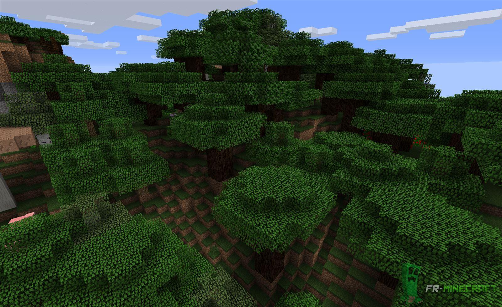 Minecraft Liste Des Biomes Minecraft