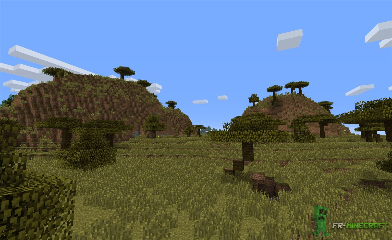 savanna biome The savanna biome is part of a larger grassland biome and is mainly made up of flat grassland vegetation with the exception of antarctica, the grassland biome is present in all continents and.