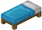 Light Blue Bed (Block)<br>