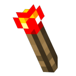 Redstone Wall Torch<br>