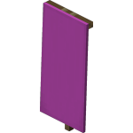 Magenta Wall Banner<br>