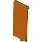 Bannière orange<br>
