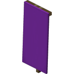 Purple Wall Banner<br>