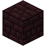 Double Nether Bricks Slab<br>