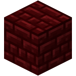 Double Dalle de Brique Rouge du Nether<br>