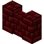 Red Nether Brick Wall<br>