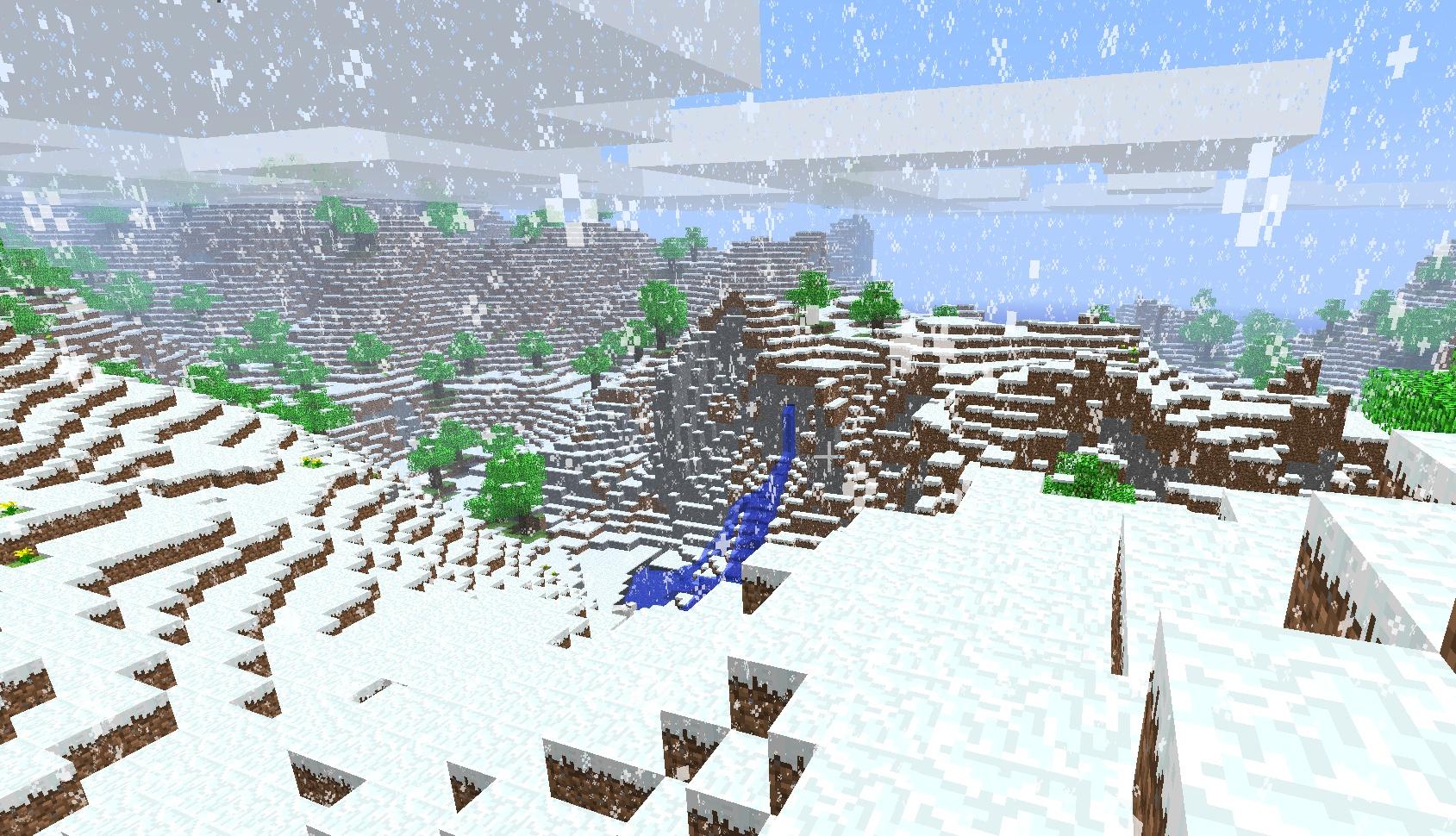 id карт снежная карта в майнкрафт #5