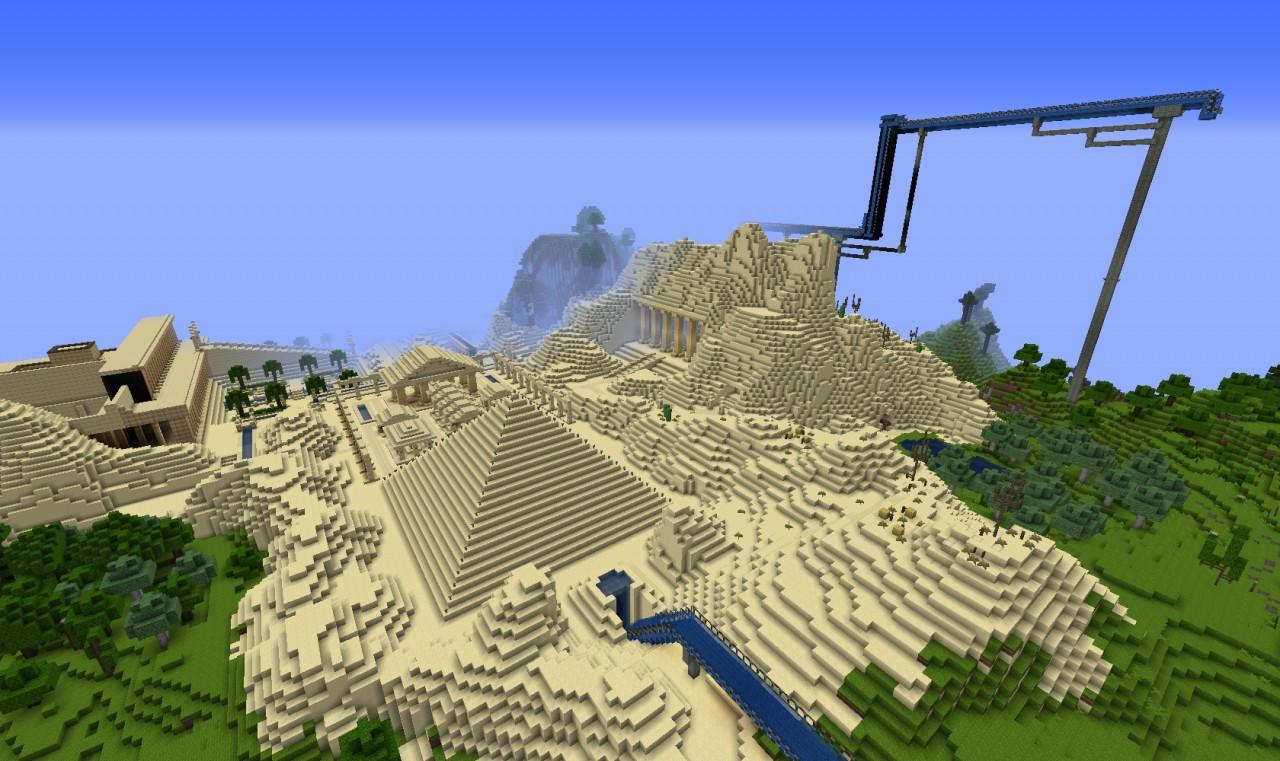 Minecraft Map Minecraft : Hillside Manor