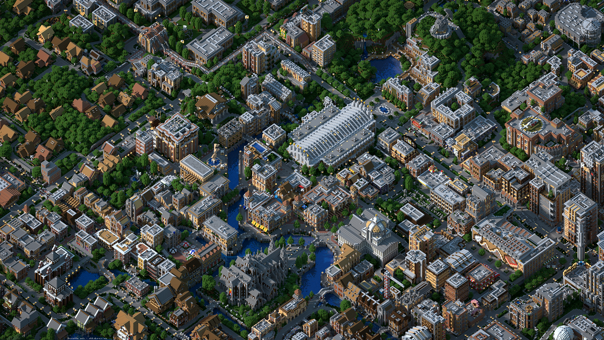 Minecraft Map Minecraft Broville V11