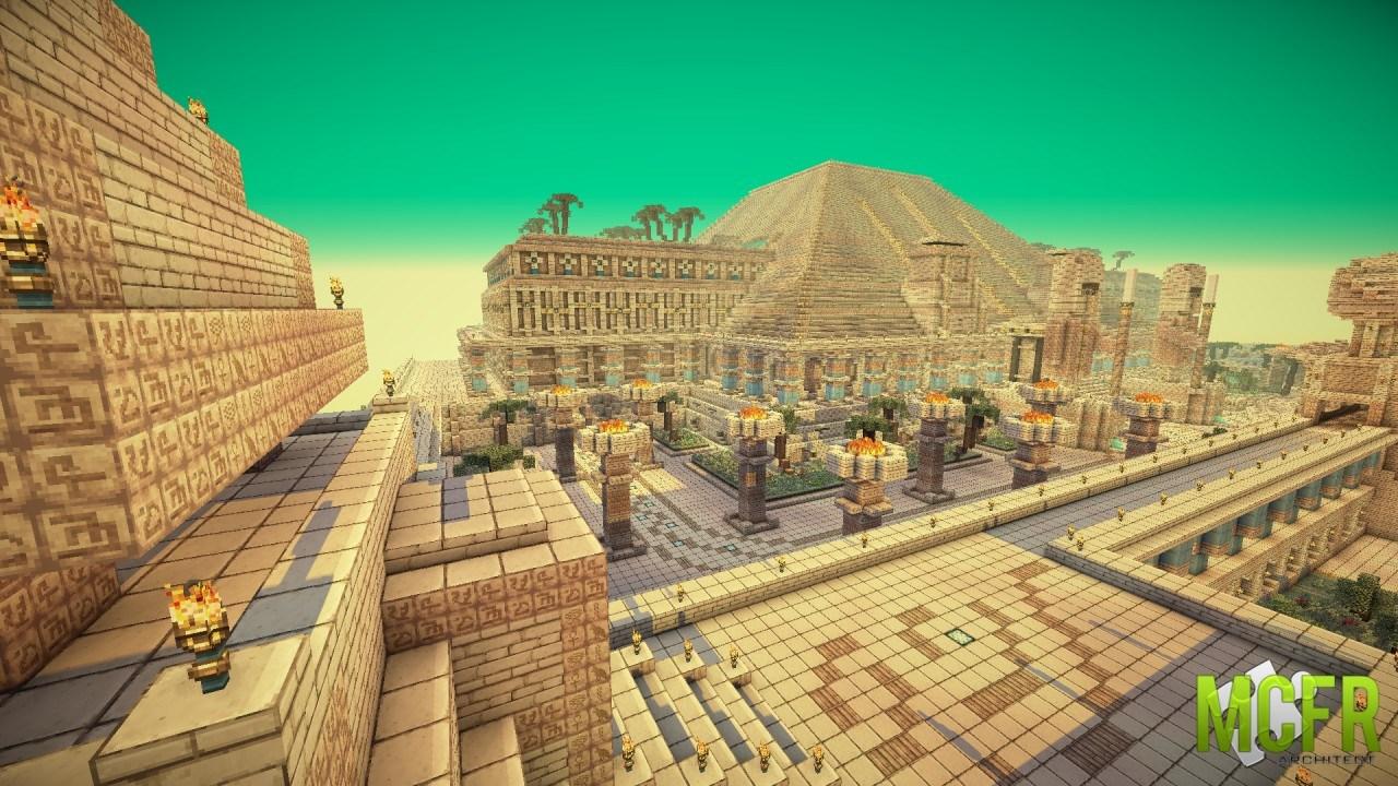 Minecraft Egypt Map.Minecraft Map Minecraft Cleopatra S Palace