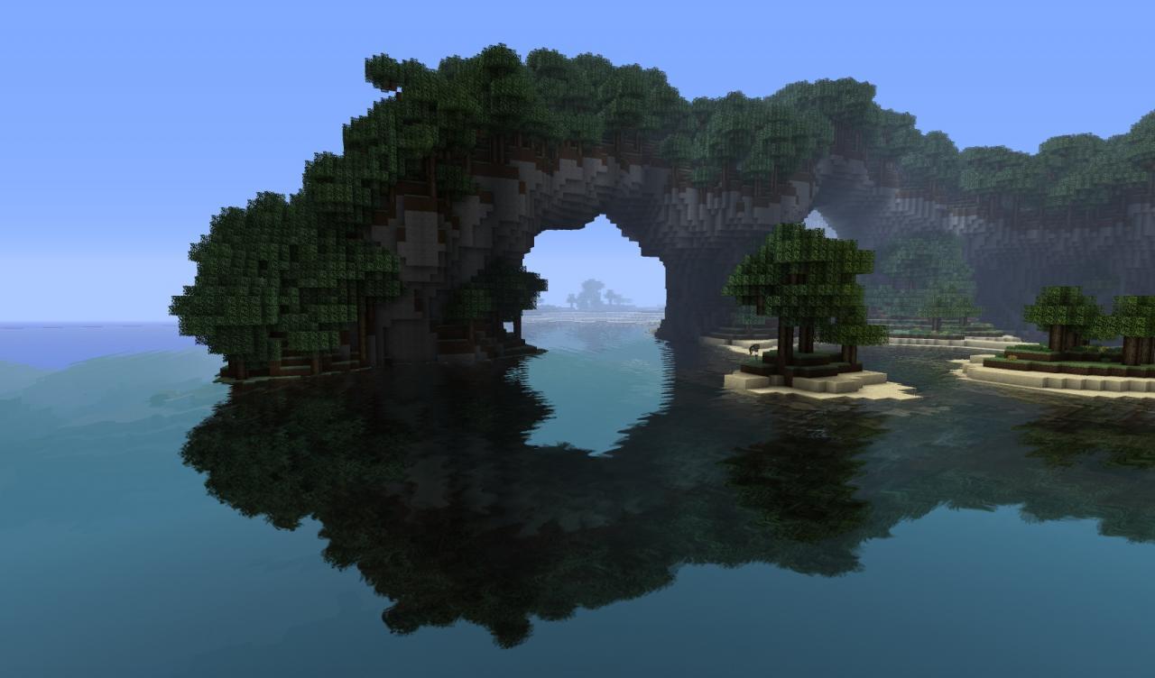 minecraft map survival island