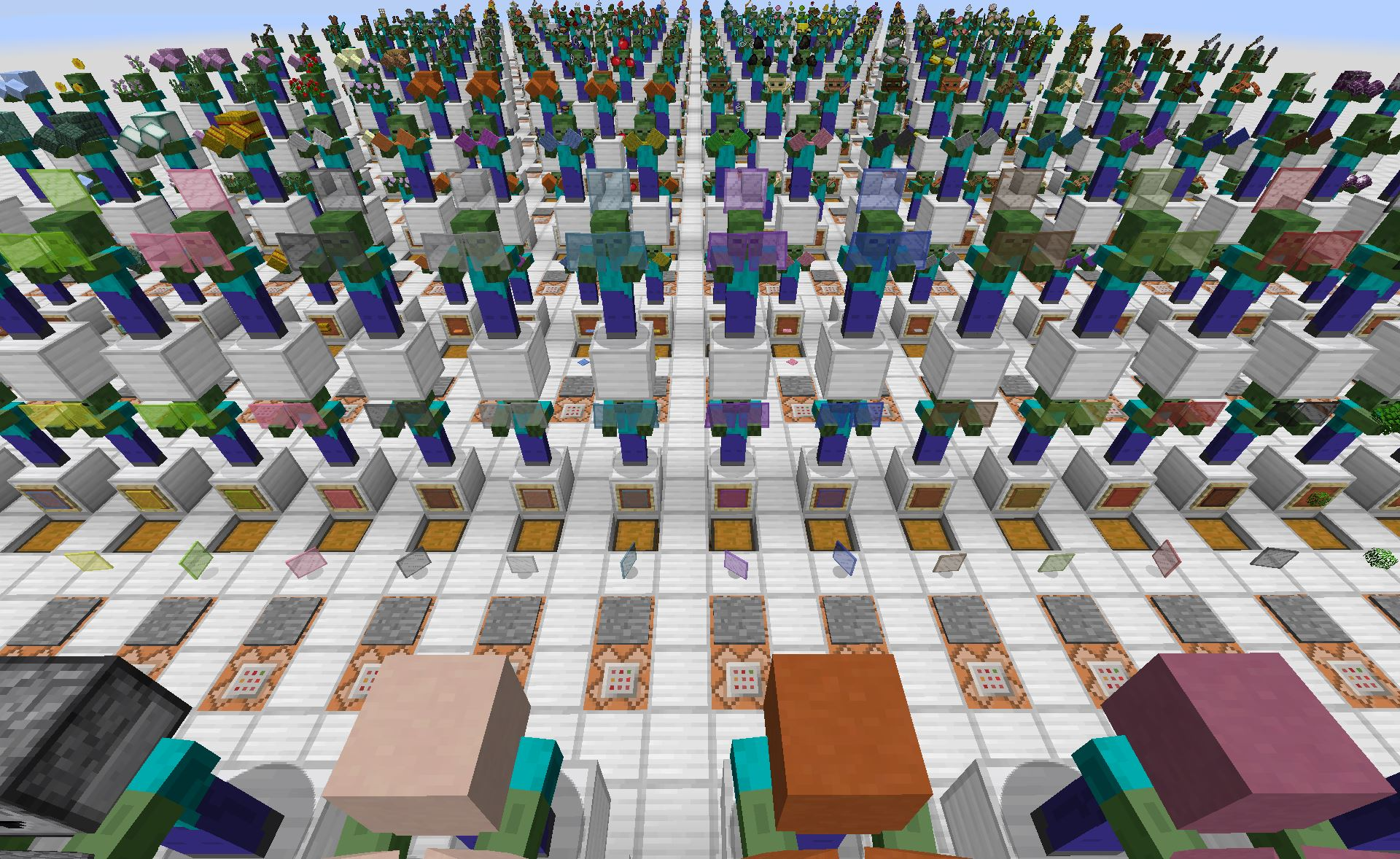 Minecraft Map Minecraft : L'armée De Grums