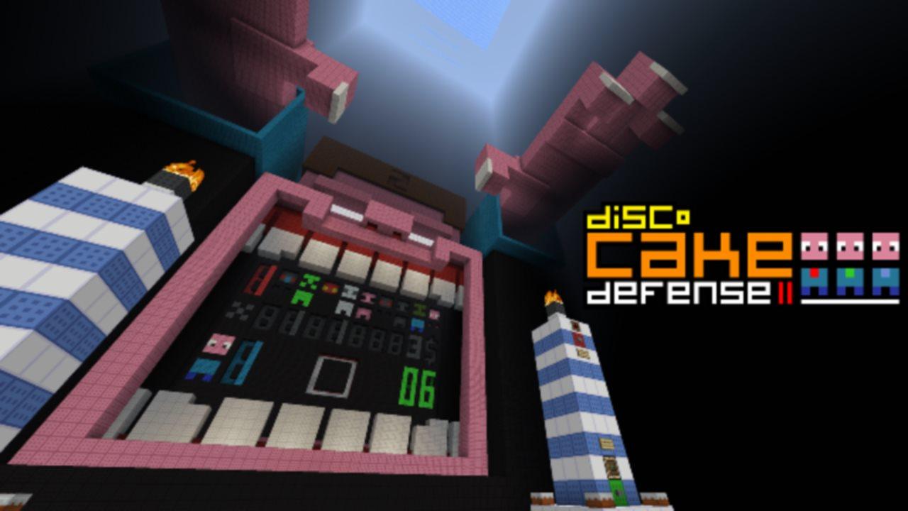 Minecraft Map Minecraft Cake Defense 2