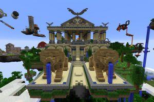 FR-Minecraft 2015: Serveur Créatif: Le spawn