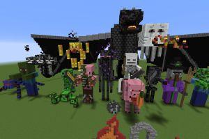 FR-Minecraft 2015: Serveur Créatif: Les skins