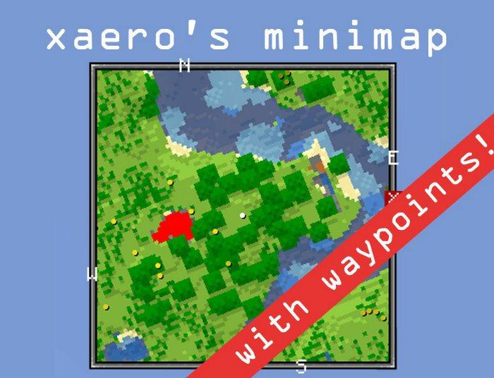 мини карта с метками для майнкрафт 1.10.2 #3