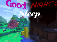 Mod Minecraft Good night sleep mod