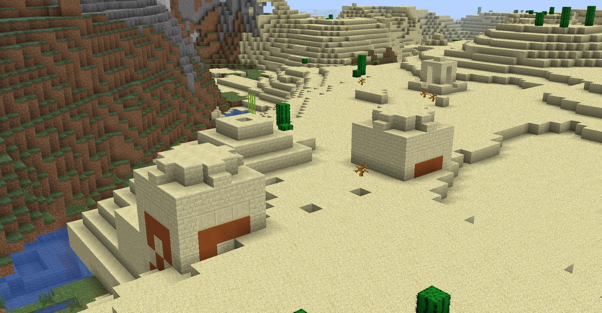 Minecraft Seed Minecraft : Rencontre De Biomes
