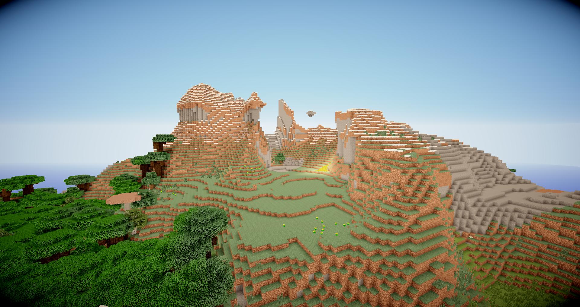 Minecraft Seed Minecraft Au Creux Des Montagnes