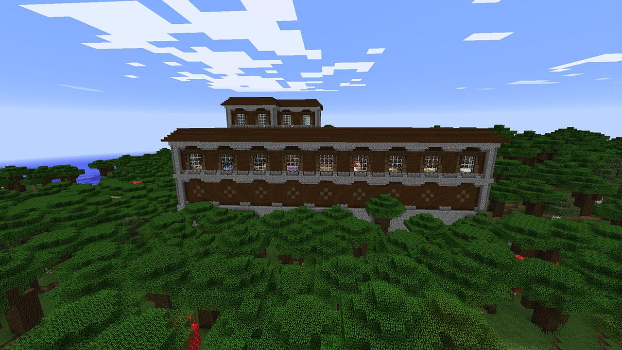Minecraft Seed Minecraft Manoirs Villages Et Mine Abandonnée