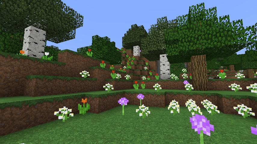 Minecraft Seed Minecraft Flower Forest