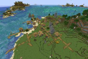 Gros village + Récif de corail