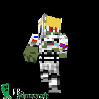 Astronaute zombifié