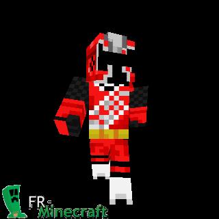 Ninja steel rouge