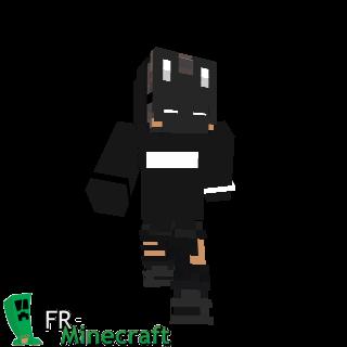 Masque de Lapin noir