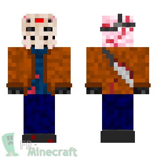 Aperçu de la skin Minecraft Jason Voorhees - Vendredi 13