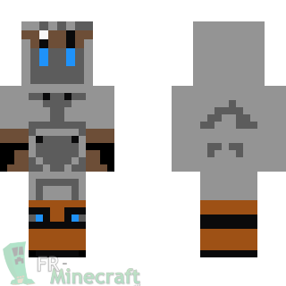 minecraft real steel skins