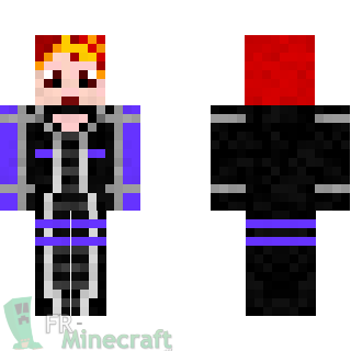 Aperçu de la skin Minecraft Joanna Dark - Perfect Dark
