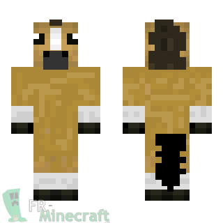 Minecraft skin minecraft cheval - Cheval minecraft ...