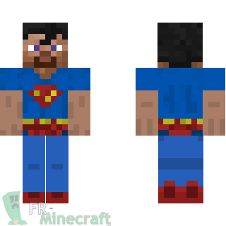 Aperçu de la skin Minecraft Superman