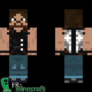 Minecraft Skin Minecraft Daryl Dixon The Walking Dead - Skins para minecraft the walking dead