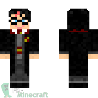 Aperçu de la skin Minecraft Harry Potter