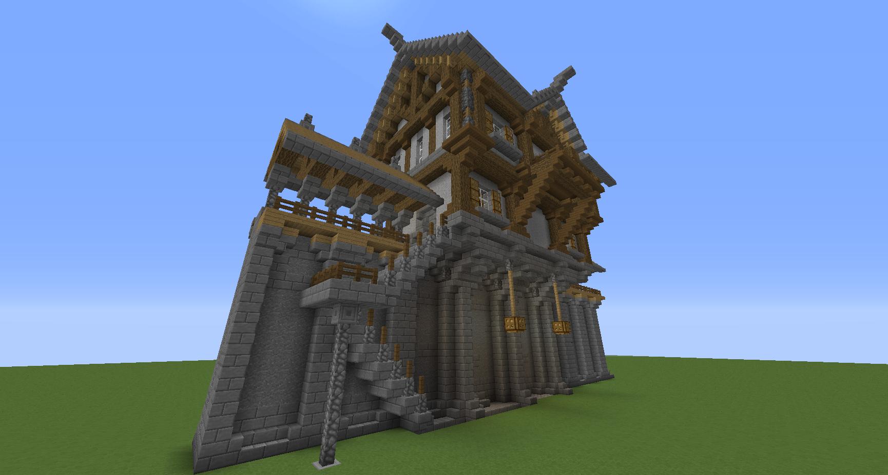 Minecraft Structure Minecraft Maison Des Echevins