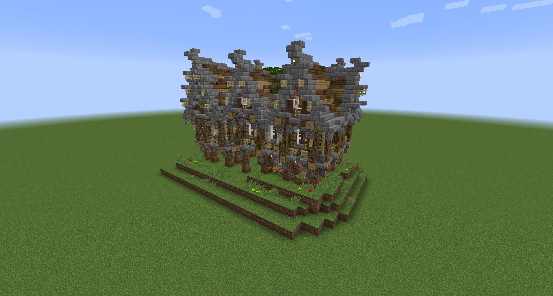 Minecraft Structure Minecraft Maison De Noble Medievale