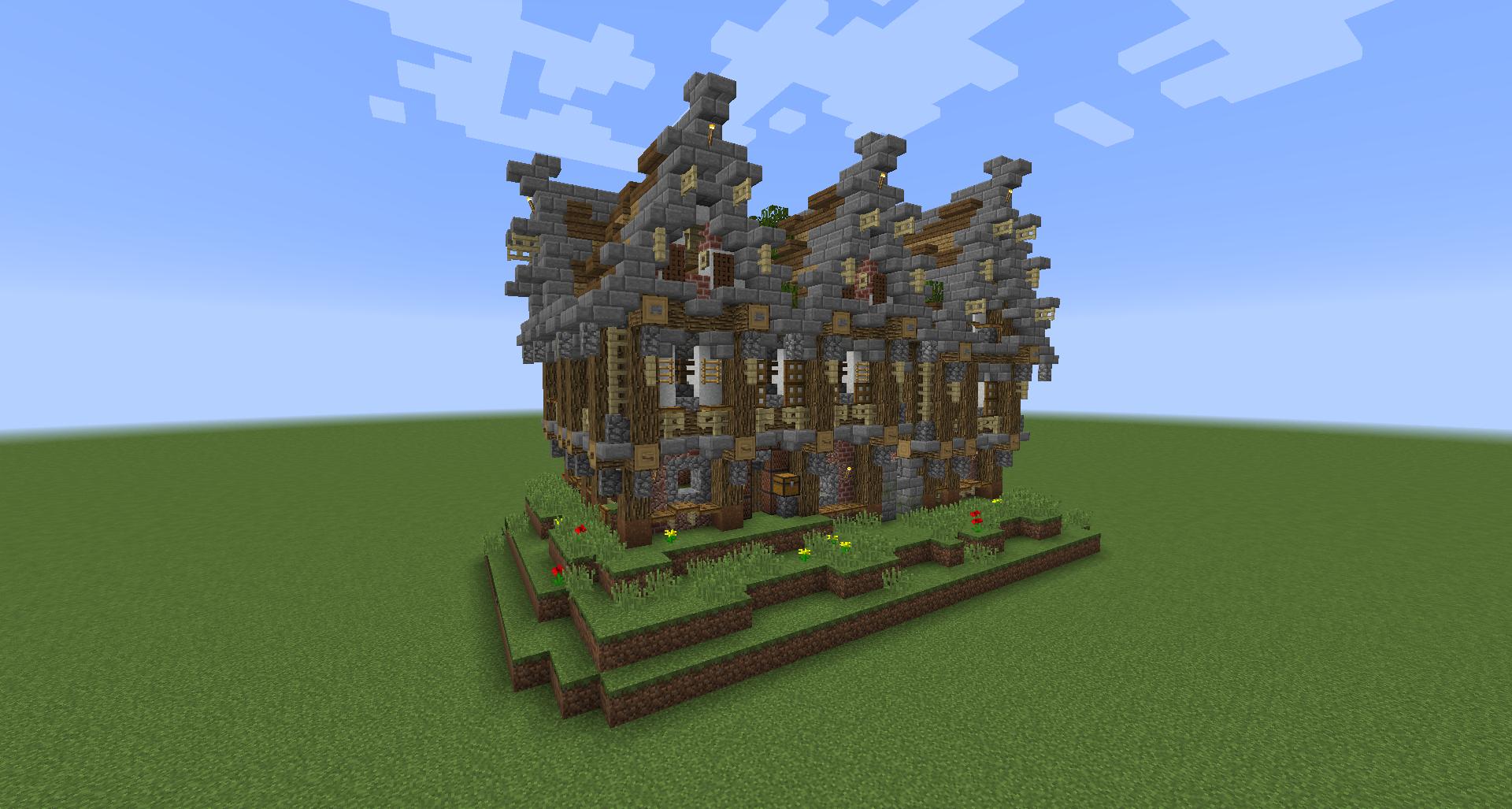 Minecraft Structure Minecraft : Maison de noble médiévale