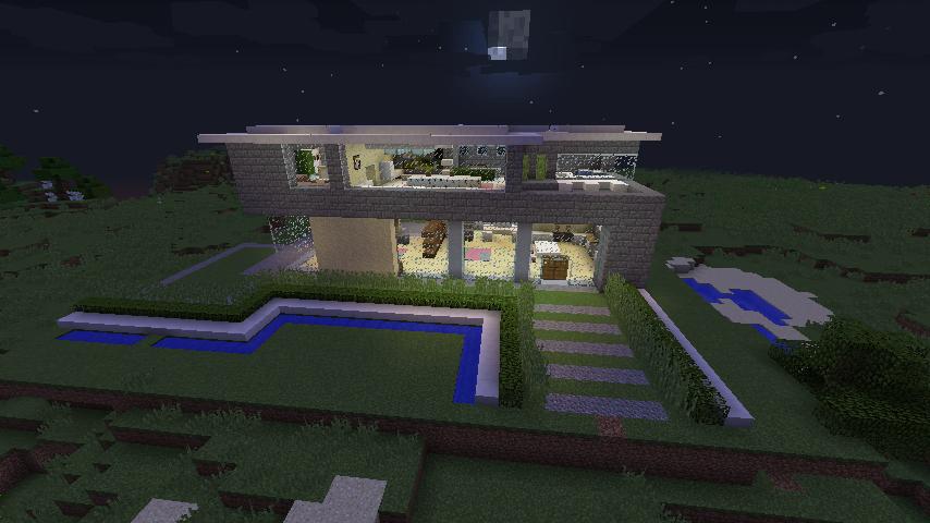 Minecraft Structure Minecraft Villa Moderne