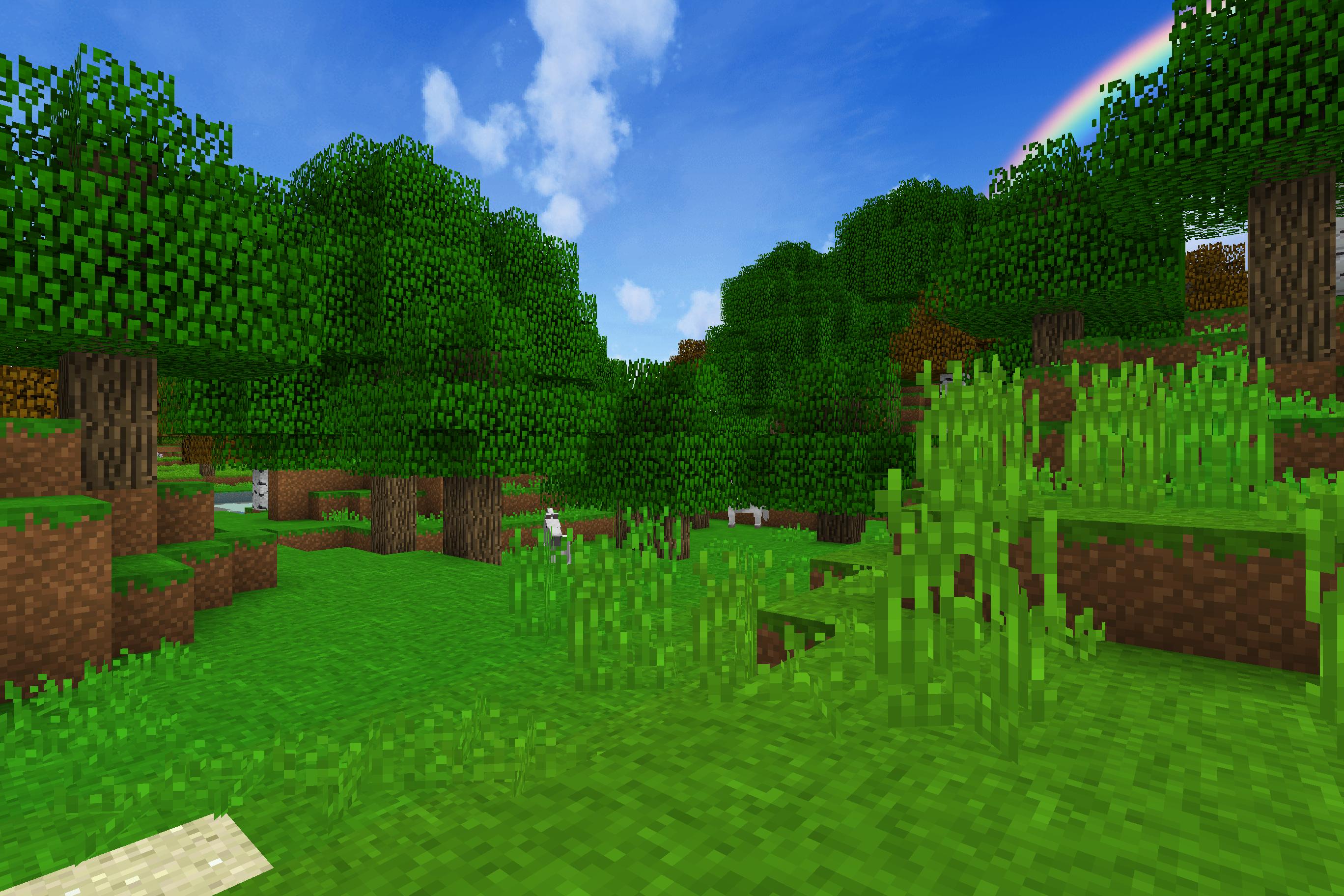 Minecraft Texture Minecraft : MathoX Blue Pack (1.9)