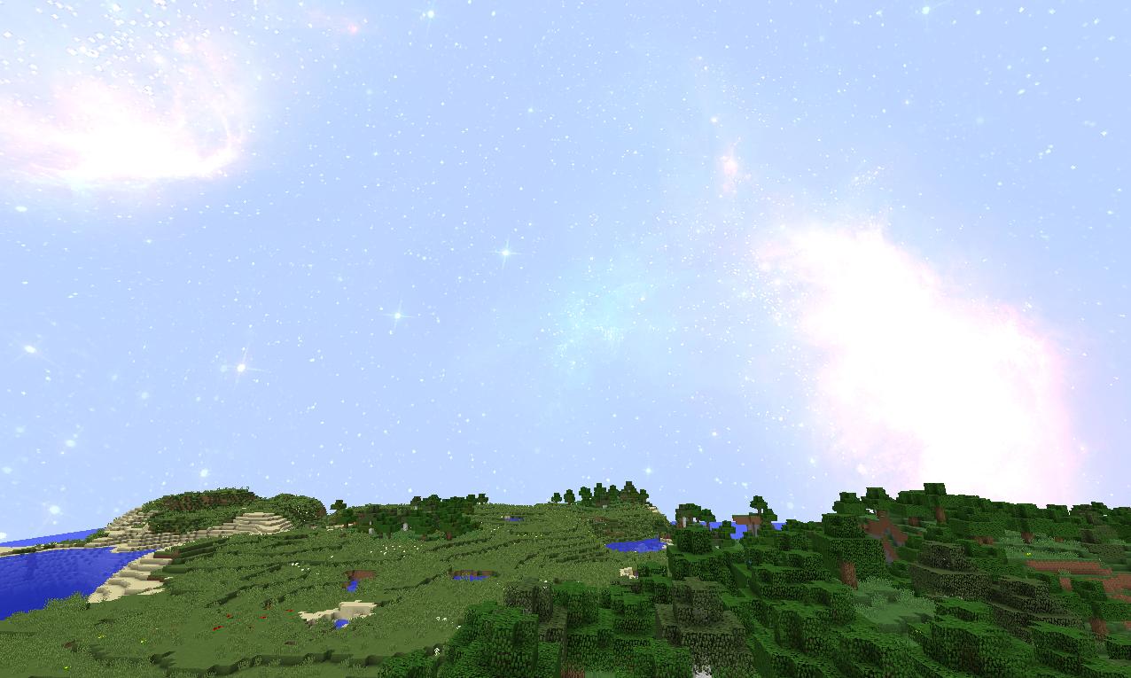 красивое небо на майнкрафт 1.7.2 #4