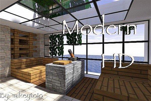 Minecraft texture minecraft hd moderne 1 7 6 for Minecraft modernes haus download 1 7 2