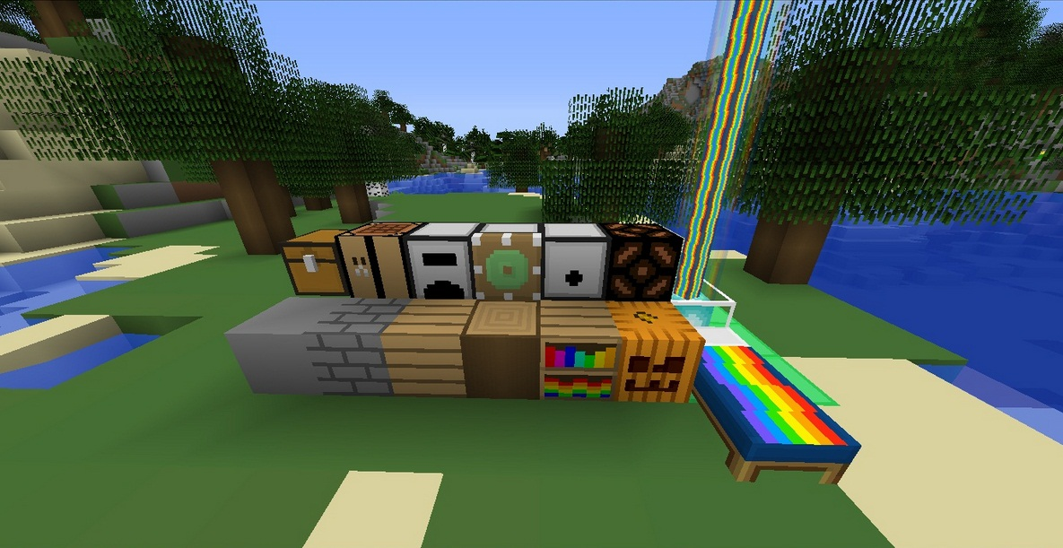 Minecraft Texture Minecraft : Nyan pack (1.5.2)