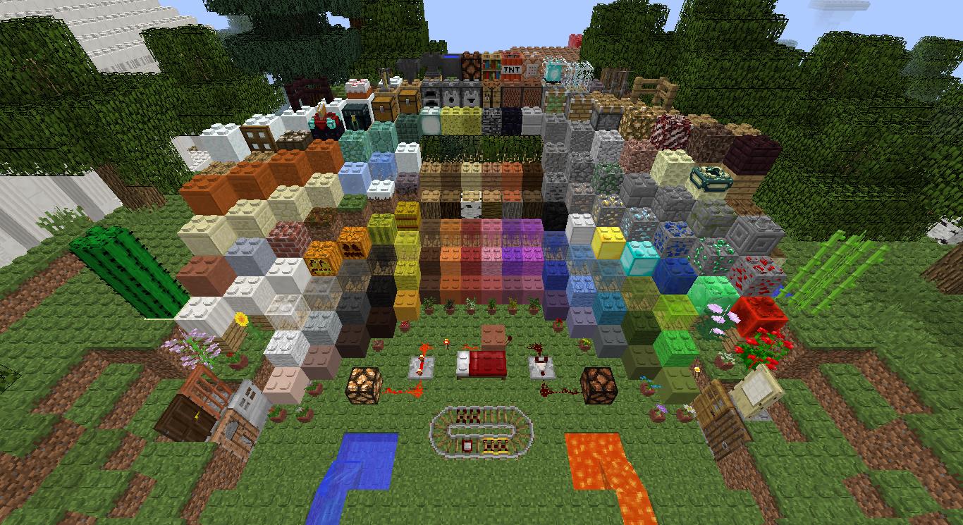 Minecraft Texture Minecraft : LEGO Block Model 1.0 (1.8.8)
